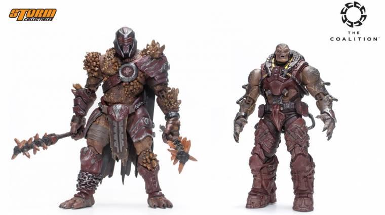 Az új Gears of War akciófigurákat simán kitennénk a polcra bevezetőkép