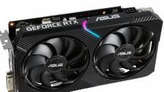Itt az ASUS GeForce RTX 2060 DUAL Mini kép