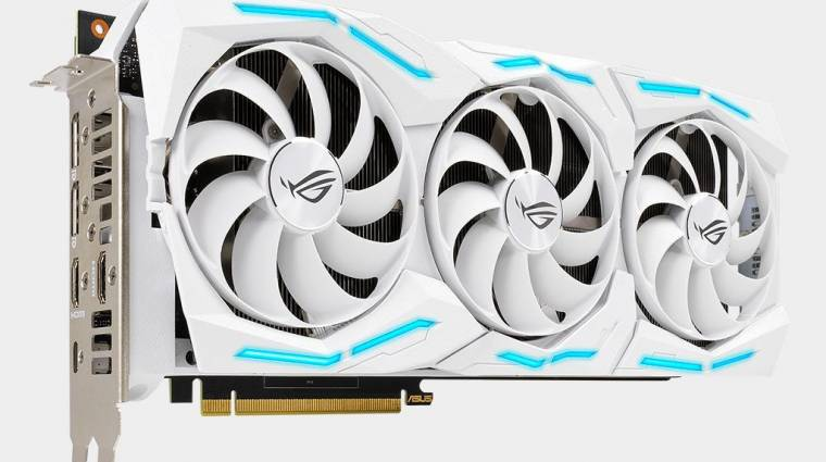 Jön a fehér GeForce RTX 2080 Super kép