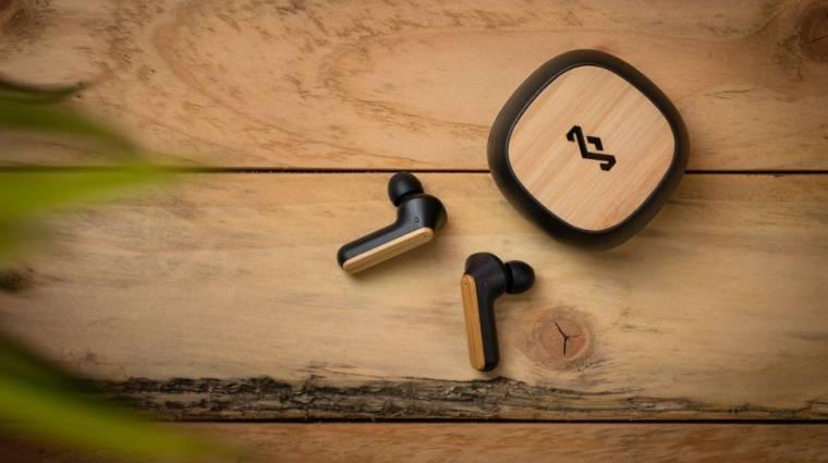 Itt a környezetbarát és zajszűrős, vezeték nélküli fülhallgató kép
