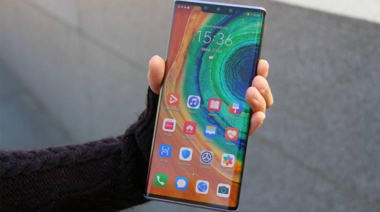 Októberben hozza a Mate 40 Pro a Huawei 5 nm-es csúcslapkáját kép