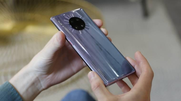 66 wattos gyorstöltőt kaphatnak a Huawei Mate 40 mobilok kép