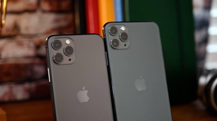 Kicsi lehet az iPhone 12 mobilok akkumulátora kép