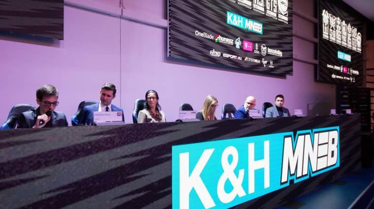 Márciusban az alapszakasszal folytatódik a K&H Magyar Nemzeti E-sport Bajnokság második szezonja bevezetőkép