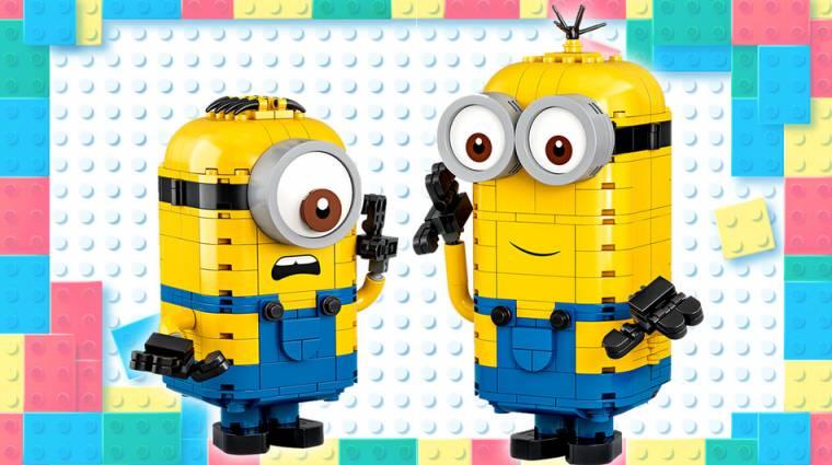 A LEGO hamarosan piacra dobja a Minyonok-szetteket bevezetőkép