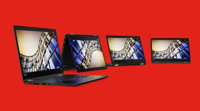 Frissített ThinkPad laptopokkal támad a Lenovo kép
