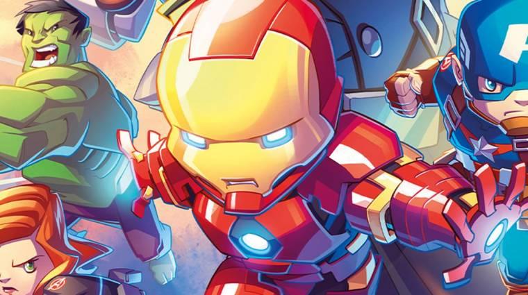 Megjelent az első Marvel témájú társasjáték a Kickstarteren bevezetőkép