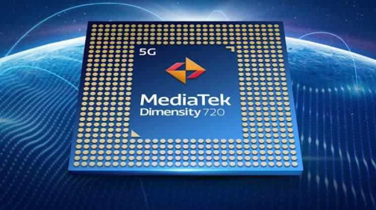Olcsó 5G-s mobilokba érkezik az új MediaTek Dimensity 720 rendszerchip kép