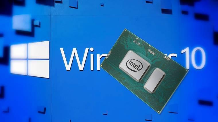 Biztonsági Intel mikrokód-frissítések érkeztek Windows 10 alá kép