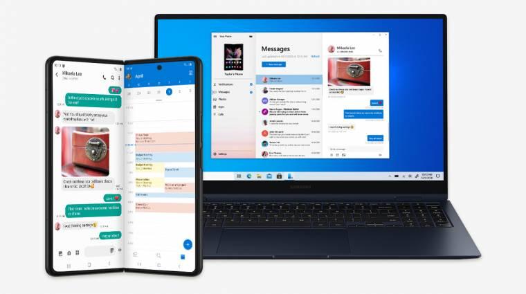 A Samsung nyitható telefonjaival még kényelmesebb lesz a Microsoft appokat használni kép