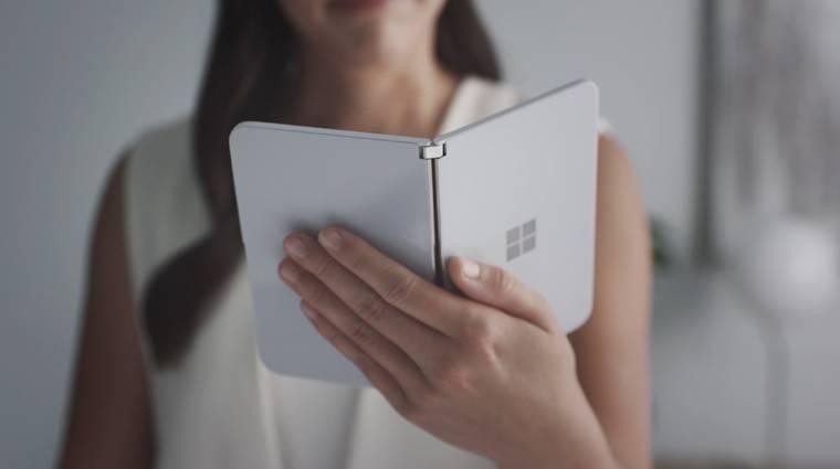 A Surface Duo új funkciójáról árulkodnak a szivárgások kép
