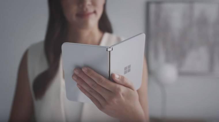 Kiderül, milyen Androiddal jön a Microsoft összecsukható okostelefonja kép