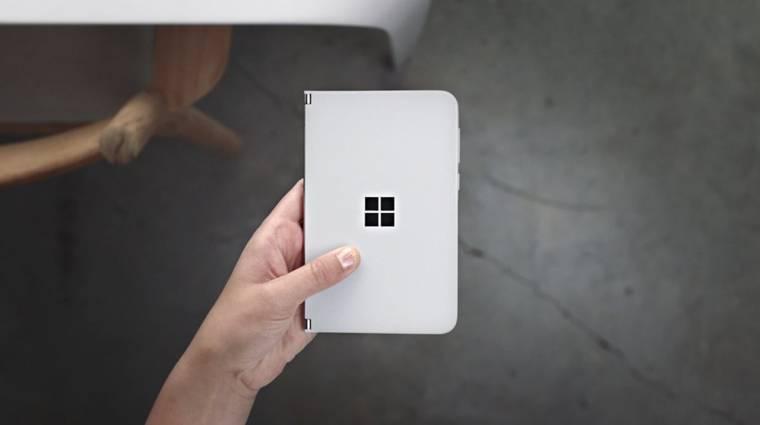 Még ki se adták a Surface Duo mobilt, a Microsoft már az utódját hegeszti kép