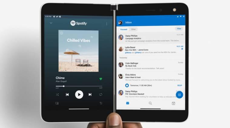 Három évig biztosan kap friss Androidot a Microsoft Surface Duo kép