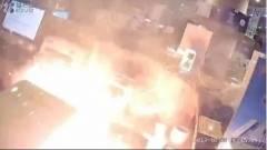 Mobil okozott tüzet egy gimnáziumban kép