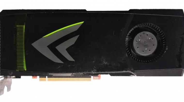 Felbukkant egy furcsa GeForce GTX 480 kép