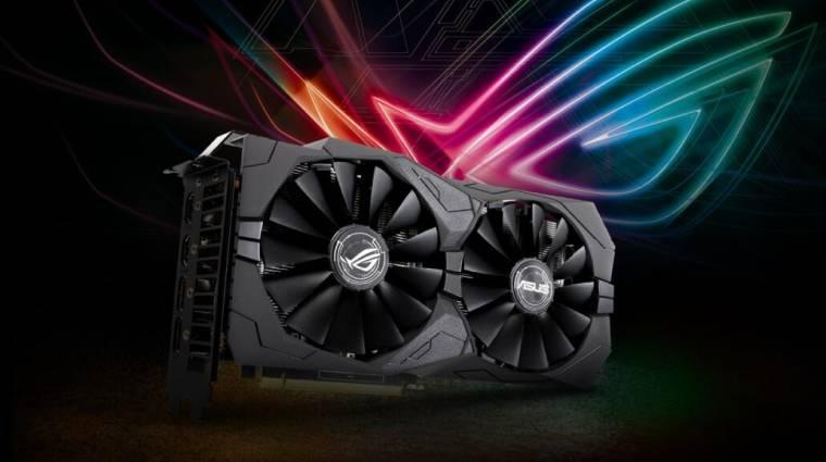 GDDR6-tal támadnak az ASUS új, GeForce GTX 1650 videokártyái kép