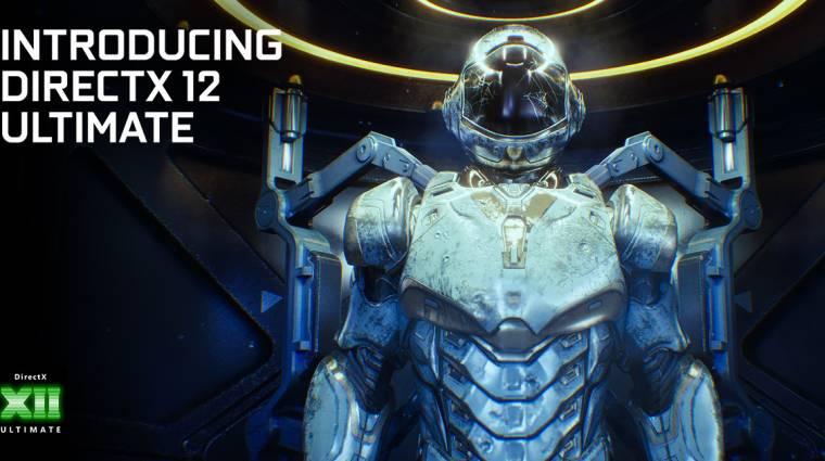 Az új GeForce driver már támogatja a DirectX 12 Ultimate-et kép