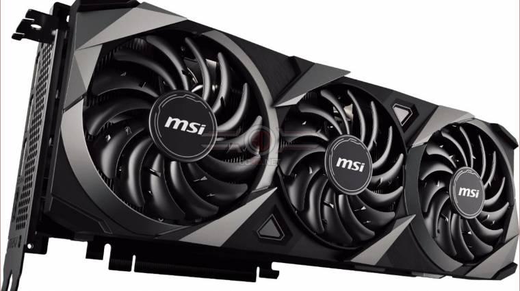 Az MSI máris bemutatta GeForce RTX 30-szériás grafikus kártyáit kép
