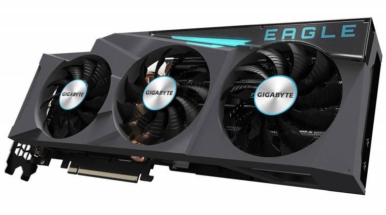 A Gigabyte rögtön négy GeForce RTX 3060 Ti kártyával támad kép