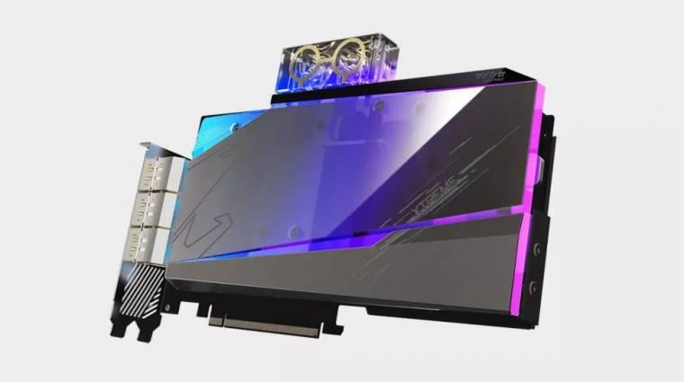 Cyberpunk dizájnt hozott az új Gigabyte GeForce RTX 3080 kép
