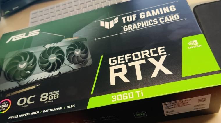 Itt a bizonyíték, jön az NVIDIA GeForce RTX 3060 Ti kép