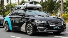 Ingyen utaznak önvezető autókon egy kaliforniai város dolgozói kép