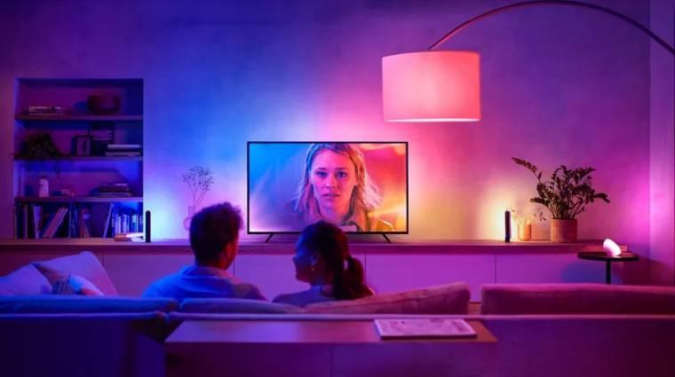Elképesztő dolgot művel a mostani tévéddel a Philips LED-csíkja kép