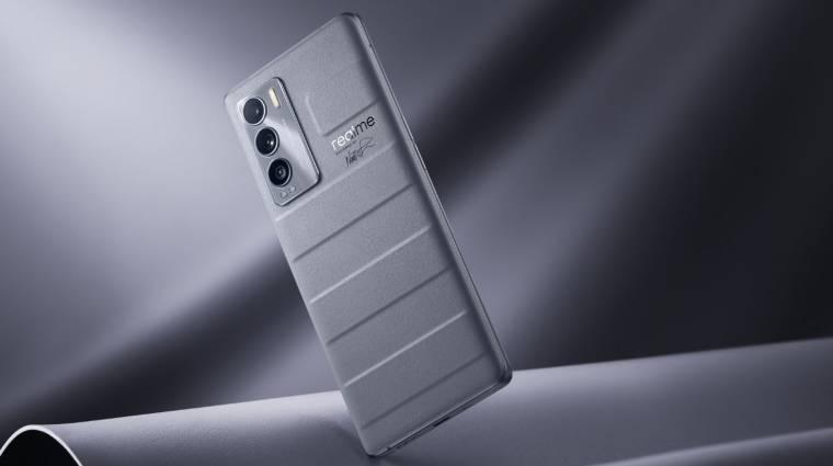 Vegán bőr hátlappal érkezik a Realme új mobilja kép