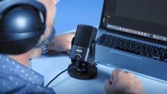 Itt az új, mini USB-s mikrofon, a Yeti Nano ellenfele kép
