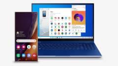 Natív Windows-alkalmazásként futnak majd a Galaxy Note 20 appjai kép