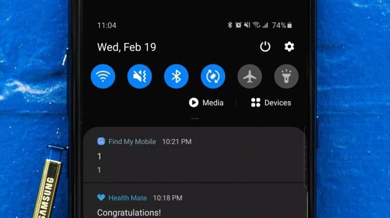 Neked is furcsa üzenetet küldött a Samsung telefonod? kép