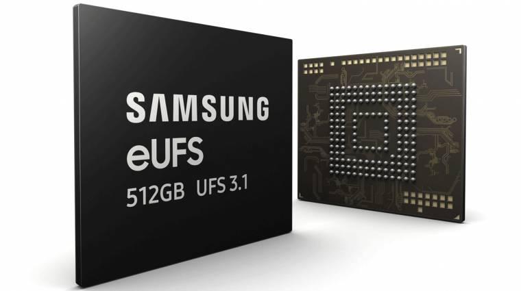 Már idén csúcsmobilokba kerülnek a Samsung UFS 3.1 tárhelyei kép
