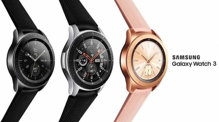 Már júliusban jöhet a Samsung Galaxy Watch 3 kép