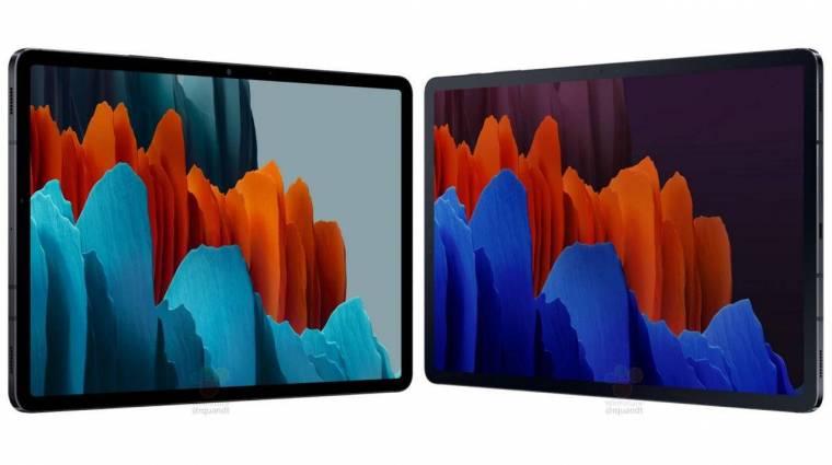 Minden kiderült a Samsung Galaxy Tab S7 táblagépekről kép