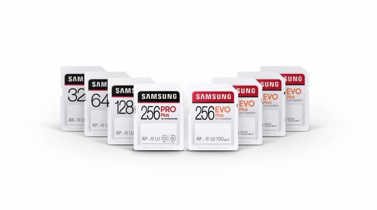 Az extrém igénybevételt is bírják a Samsung új memóriakártyái kép