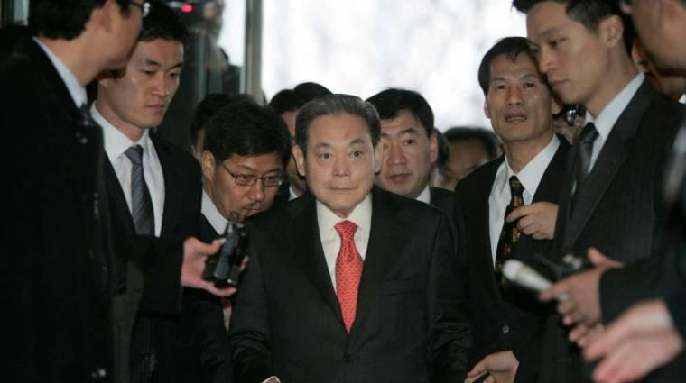 Elhunyt Li Kun Hi, a Samsung legendás elnöke kép