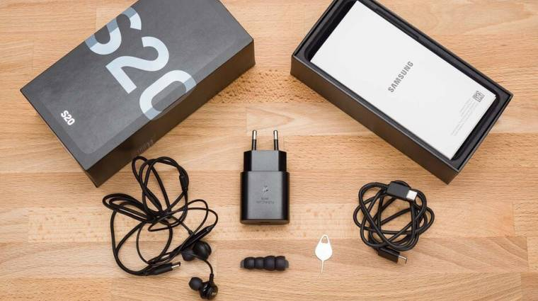 Van rá esély, hogy a Samsung Galaxy S21 mobilok dobozában sem lesz töltő kép