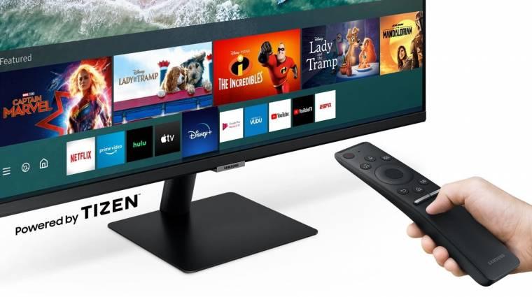 Munkához, tanulásra és szórakozásra is jó a Samsung Smart Monitor kép