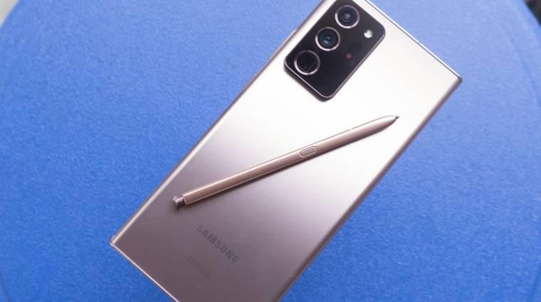 2021-ben tényleg elkaszálhatja a Galaxy Note szériát a Samsung kép
