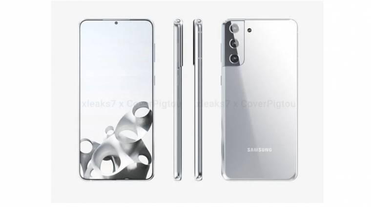 Az eddigi legrészletesebb képeken látható a Samsung Galaxy S21+ kép