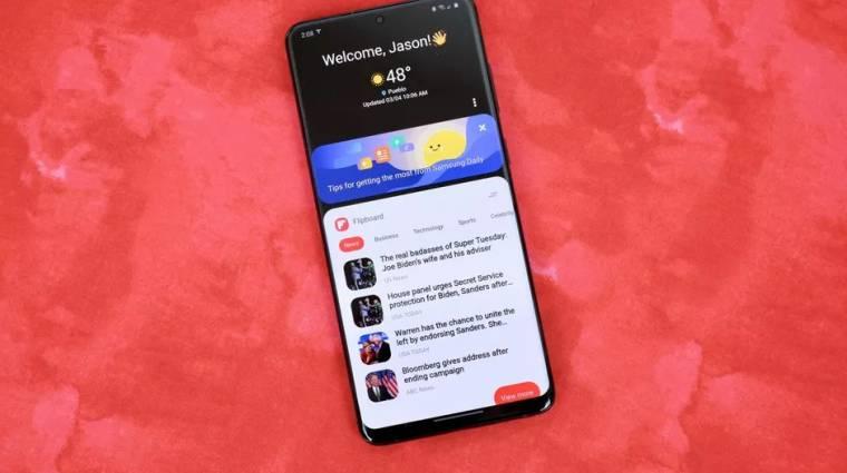 Leszámolhat a Bixby-főoldallal a Samsung Galaxy S21 kép