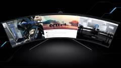 A Samsung mini LED Odyssey G9 gamer monitora nagyon komoly, de nagyon drága is kép