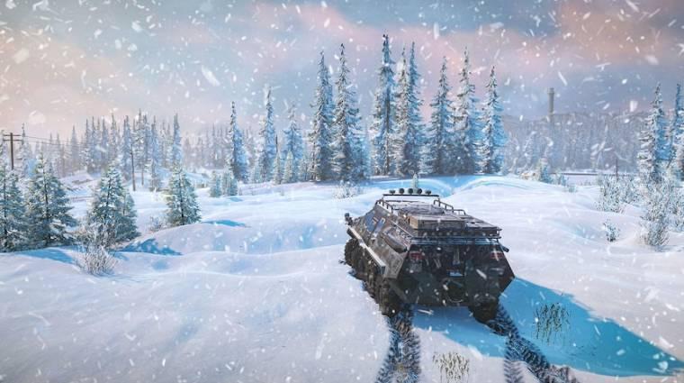 Megvan, mikor jön a Spintires havas folytatása, a SnowRunner bevezetőkép