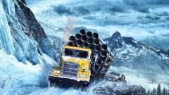 SnowRunner teszt - ablakig ér a sár és még havazik is kép