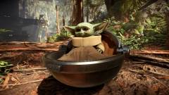 Végre elkészült a Baby Yoda mod a Star Wars Battlefront 2-höz kép