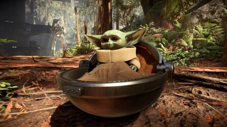 Végre elkészült a Baby Yoda mod a Star Wars Battlefront 2-höz bevezetőkép