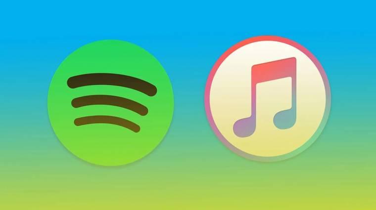 Hatalmas bevételeket hozott tavaly a Spotify és az Apple Music kép