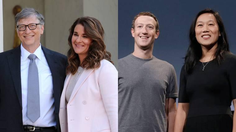 Mark Zuckerberg és Bill Gates egyesítette erőit a koronavírus ellen kép