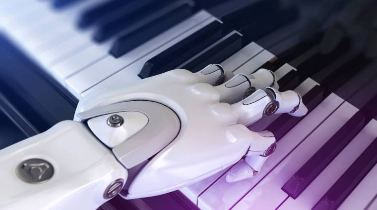 Ilyen, ha a mesterséges intelligencia ír zenét és szöveget kép